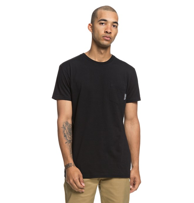 0 Camiseta con Bolsillo Basic Negro EDYKT03415 DC Shoes