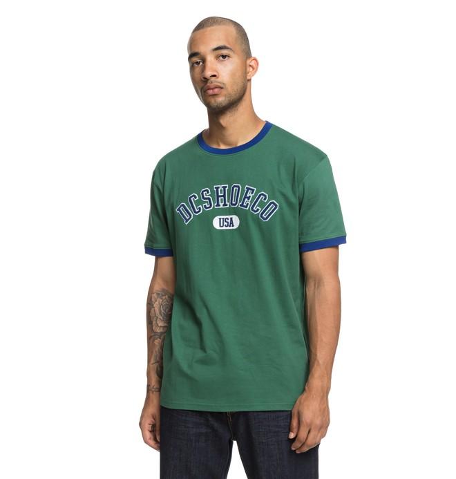 0 Glenridge - T-Shirt voor Heren Green EDYKT03420 DC Shoes