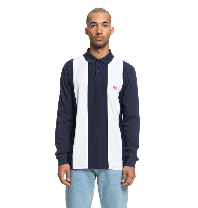 0 Crosstown - Polo à manches longues pour Homme Bleu EDYKT03424 DC Shoes