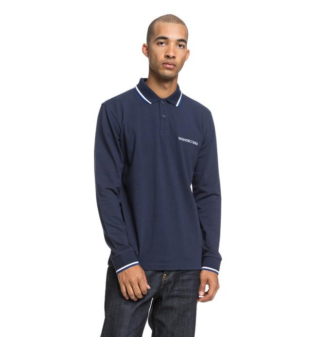 0 Lakebay - Polo à manches longues pour Homme Bleu EDYKT03428 DC Shoes