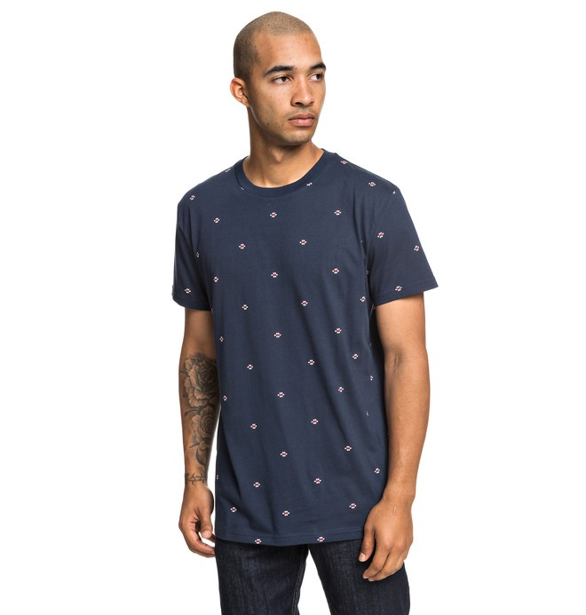 0 Cresdee - T-Shirt for Men Blue EDYKT03443 DC Shoes