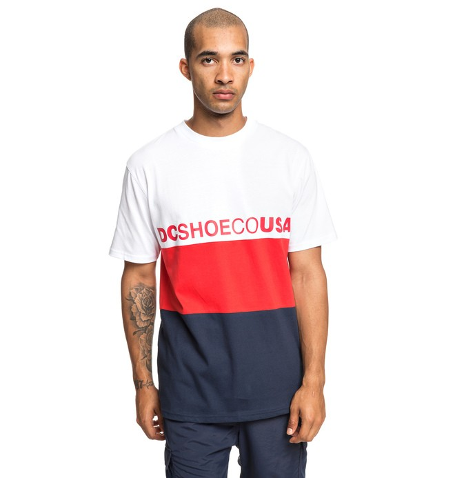 0 Glenferrie - T-shirt pour Homme Blanc EDYKT03446 DC Shoes