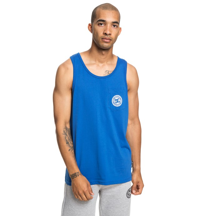 0 Pocket Tank Blue EDYKT03453 DC Shoes