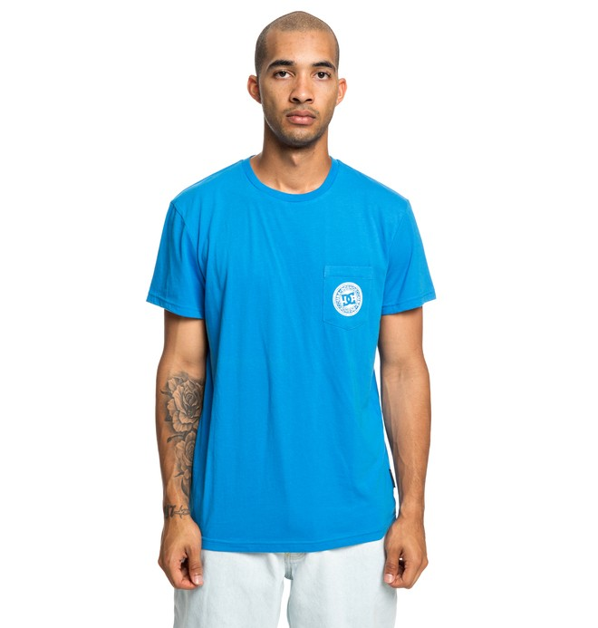 0 Basic - T-Shirt für Männer Blau EDYKT03458 DC Shoes