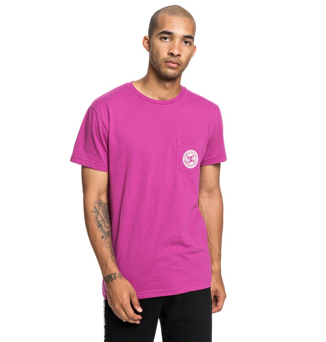 0 Basic - T-Shirt for Men Pink EDYKT03458 DC Shoes