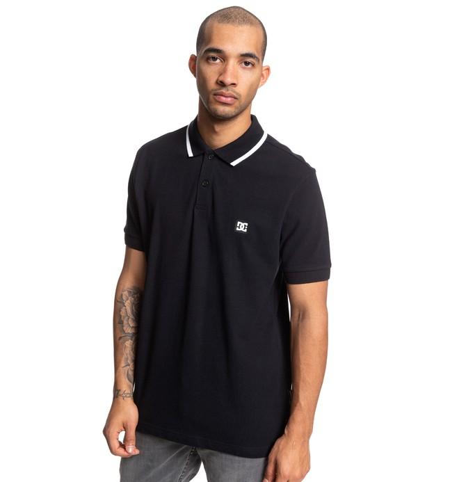 0 Stoneybrook Short Sleeve Polo Shirt Black EDYKT03469 DC Shoes