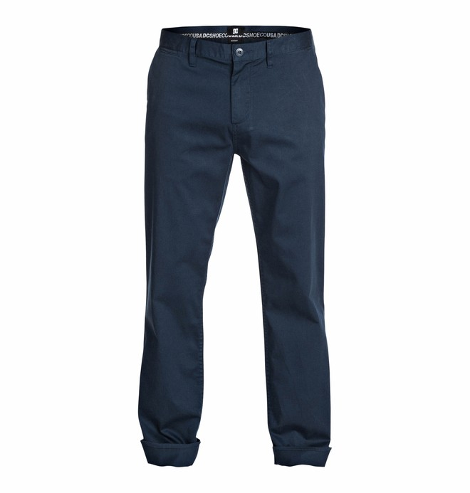 "0 Roomy 34"" Inseam Chino Pants  EDYNP03050 DC Shoes"