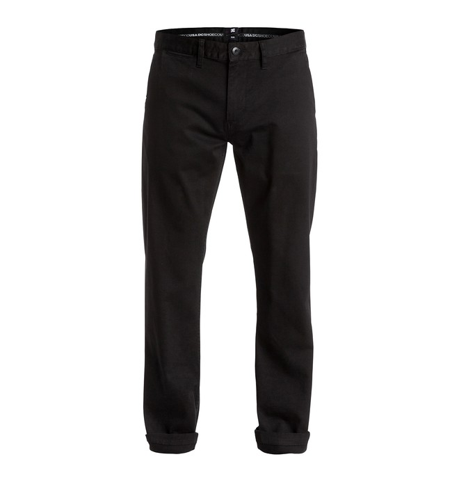 DC Mens Worker Slim Chino 32 Pant