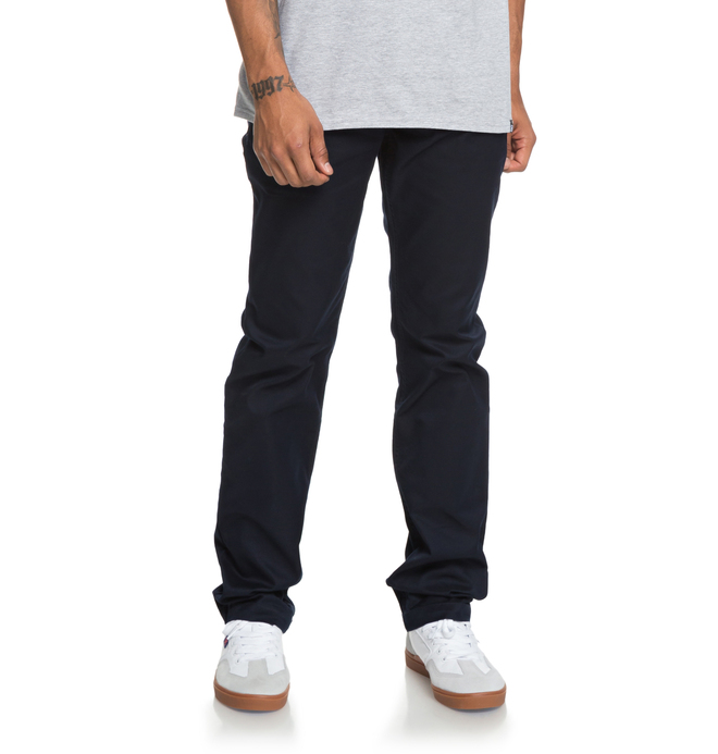 0 Worker - Straight Fit Jeans Blue EDYNP03136 DC Shoes