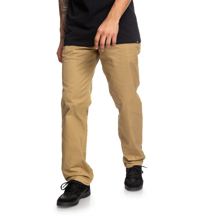 0 Worker Chinos Brown EDYNP03137 DC Shoes