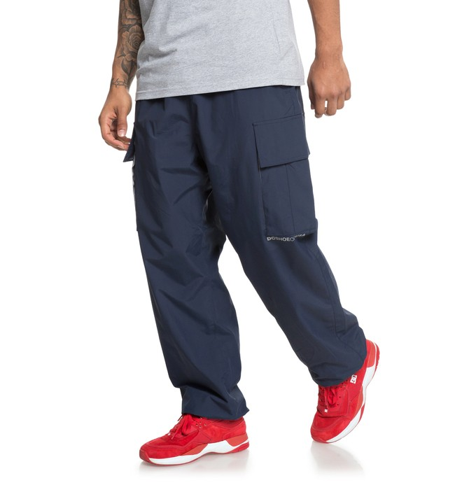 0 Relevant - Cargo Tracksuit Bottoms for Men Blue EDYNP03138 DC Shoes