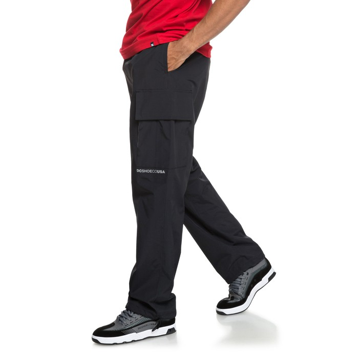 0 Relevant - Cargo Tracksuit Bottoms for Men Black EDYNP03138 DC Shoes