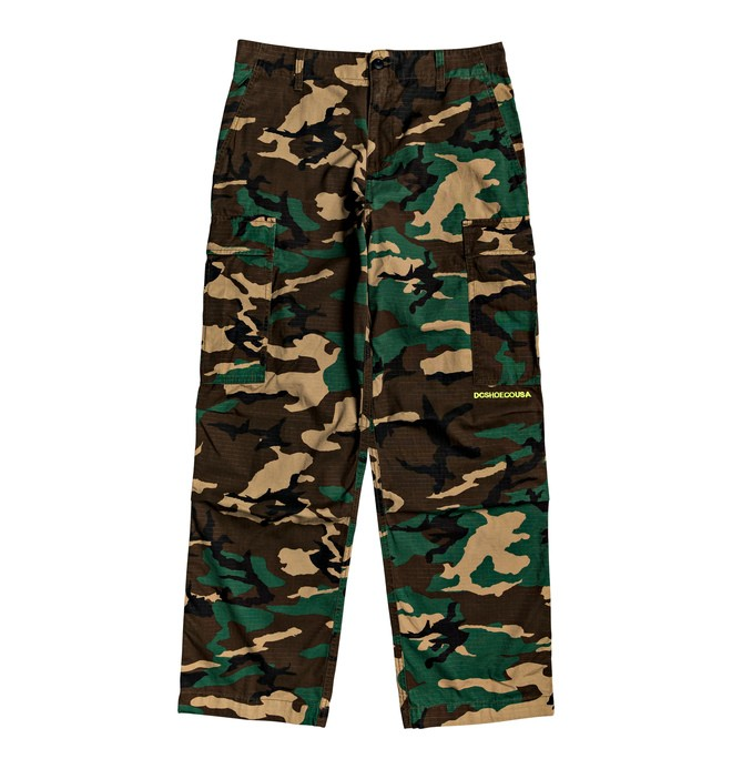 0 Infield - Military Cargo Trousers Red EDYNP03140 DC Shoes