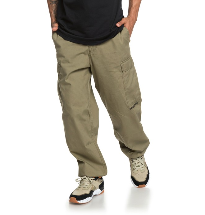 0 Infield Military Cargo Pants Green EDYNP03140 DC Shoes