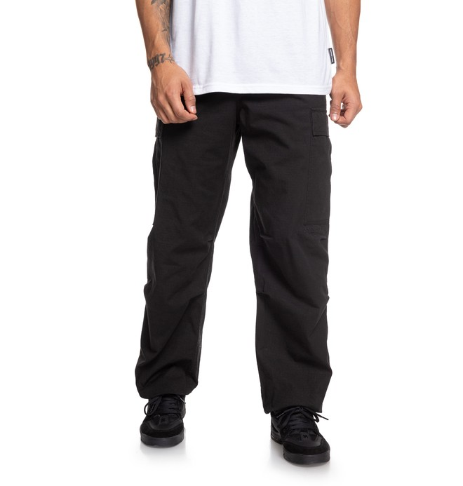 0 Infield - Military Cargo Trousers Black EDYNP03140 DC Shoes