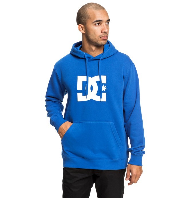 0 Star - Hoodie for Men Blue EDYSF03165 DC Shoes