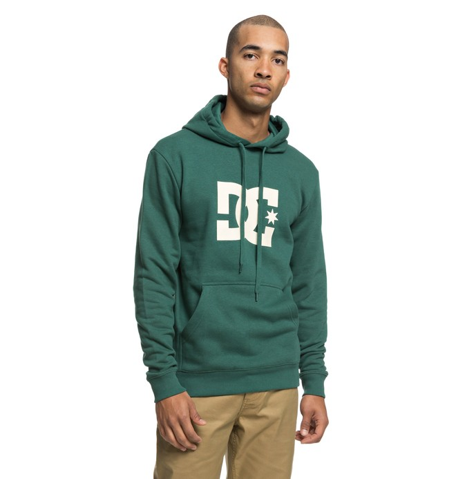 0 Star - Hoodie for Men Green EDYSF03165 DC Shoes