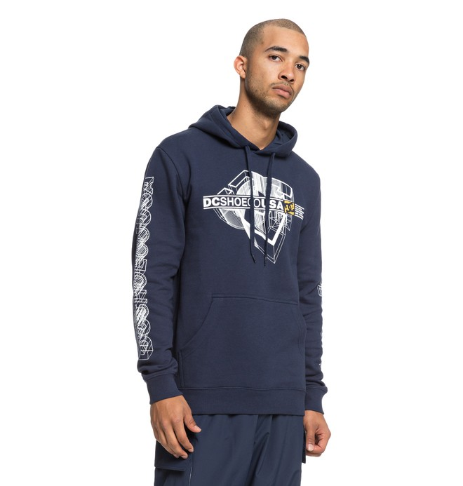 0 Phaser Hoodie Blue EDYSF03172 DC Shoes