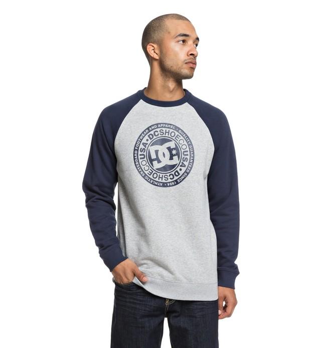 0 Circle Star Sweatshirt Blue EDYSF03177 DC Shoes