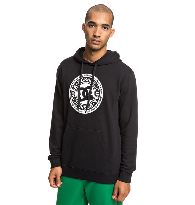 0 Circle Star - Sweat à capuche pour Homme Noir EDYSF03183 DC Shoes