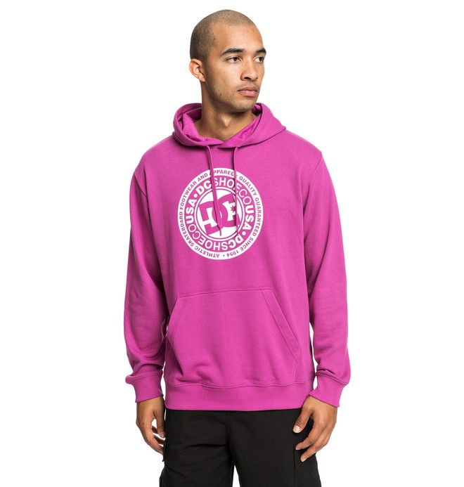 0 Circle Star - Hoodie for Men Pink EDYSF03183 DC Shoes