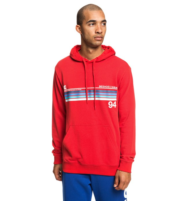 0 Crasingle - Sweat à capuche pour Homme Rouge EDYSF03186 DC Shoes