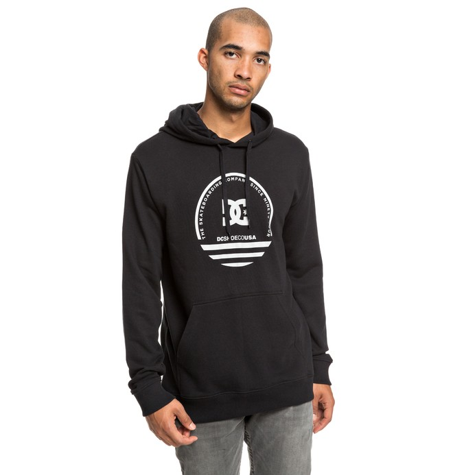 0 Fatal Sting - Hoodie for Men Black EDYSF03187 DC Shoes