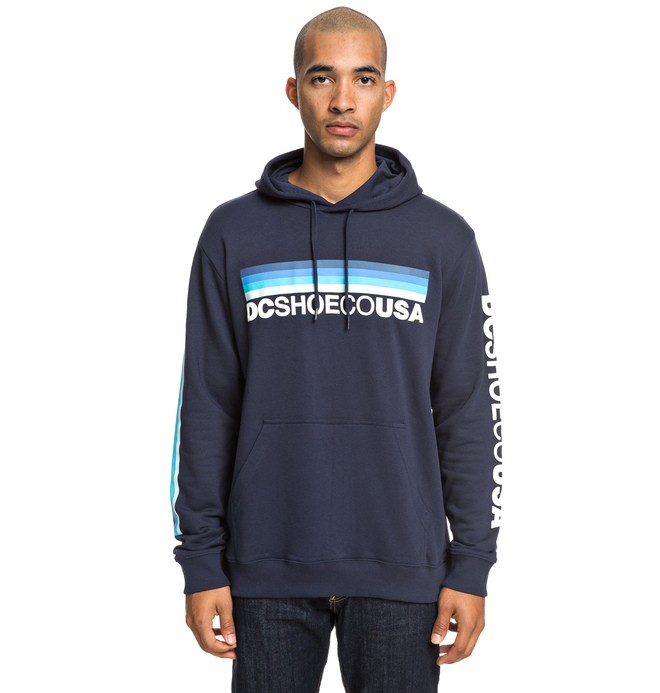 0 Flag Nine Four - Sweat à capuche pour Homme Bleu EDYSF03189 DC Shoes