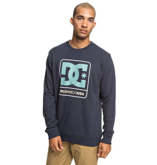 0 Cloudly - Sweatshirt for Men Blue EDYSF03192 DC Shoes