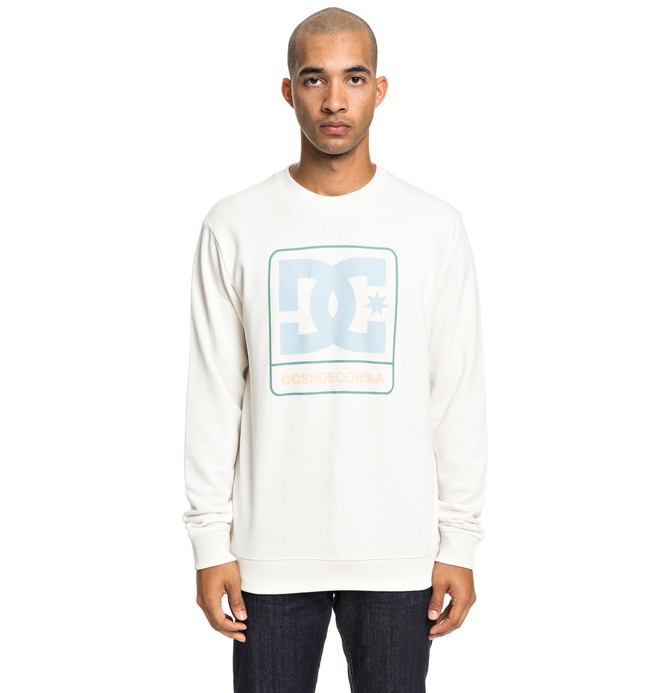 0 Cloudly - Sweatshirt for Men White EDYSF03192 DC Shoes