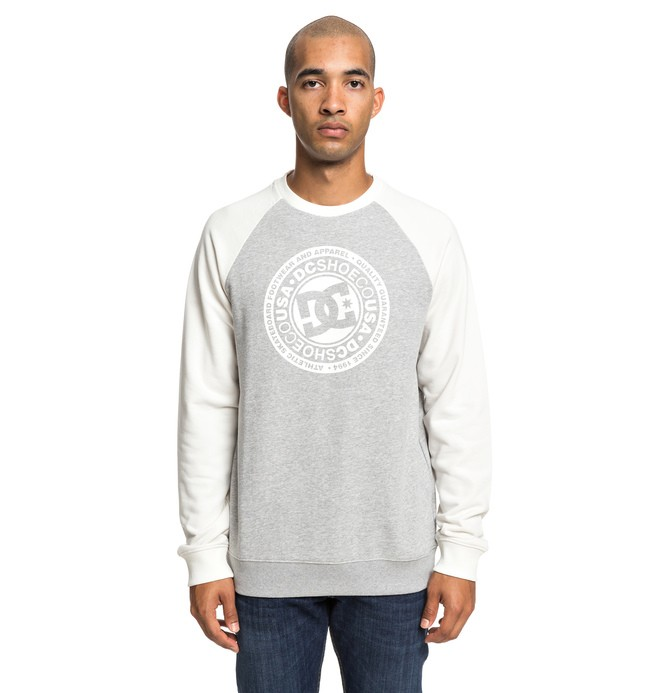 0 Circle Star - Sweatshirt for Men White EDYSF03198 DC Shoes