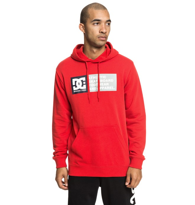 0 Vertical Zone - Hoodie for Men Red EDYSF03199 DC Shoes
