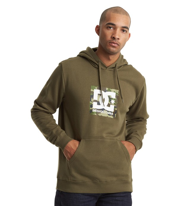 0 Square Star Hoodie  EDYSF03215 DC Shoes