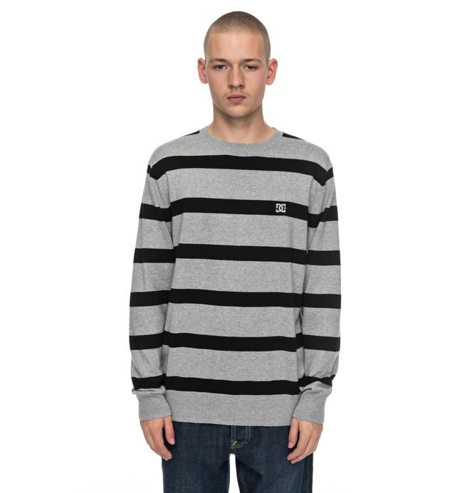 0 Sabotage Stripe - Jersey para Hombre Negro EDYSW03024 DC Shoes