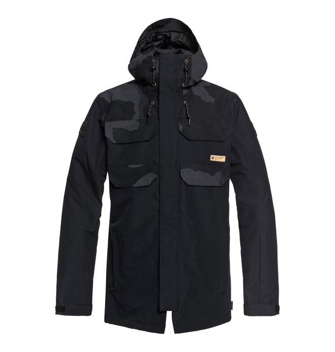 0 Haven - Veste de snow pour Homme Noir EDYTJ03070 DC Shoes