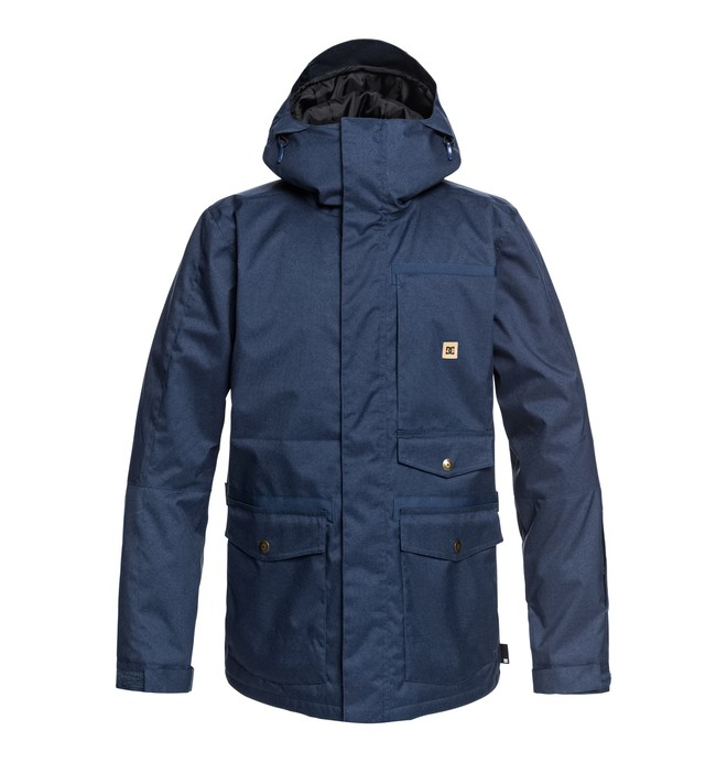0 Servo - Parka da snow da Uomo Blue EDYTJ03071 DC Shoes