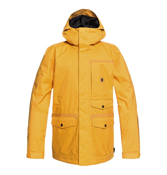 0 Servo Snow Jacket Yellow EDYTJ03071 DC Shoes