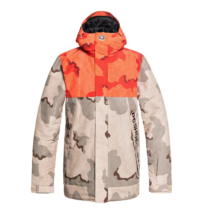 0 Defy Snow Jacket Brown EDYTJ03073 DC Shoes
