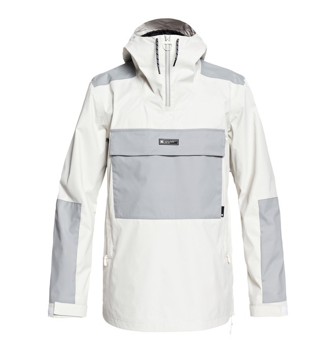 0 Rampart Snow Jacket White EDYTJ03074 DC Shoes