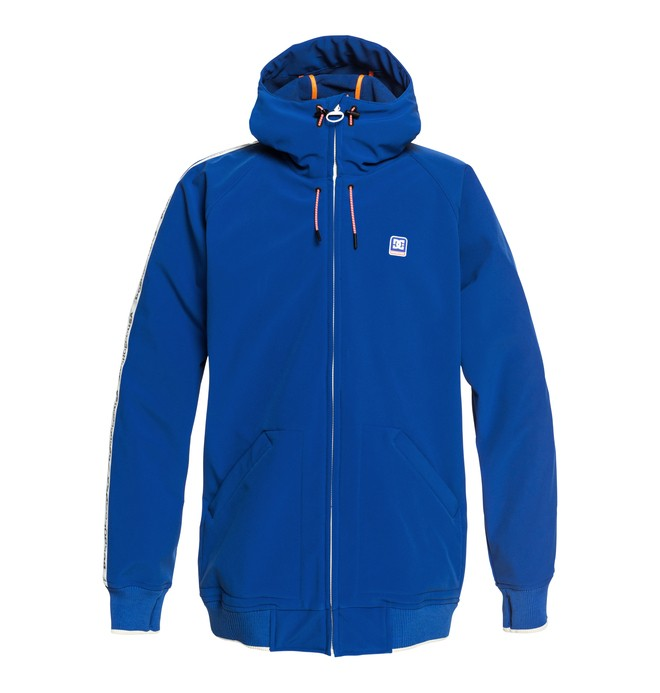 0 Spectrum - Softshell Bomber Snow Jacket for Men Purple EDYTJ03075 DC Shoes