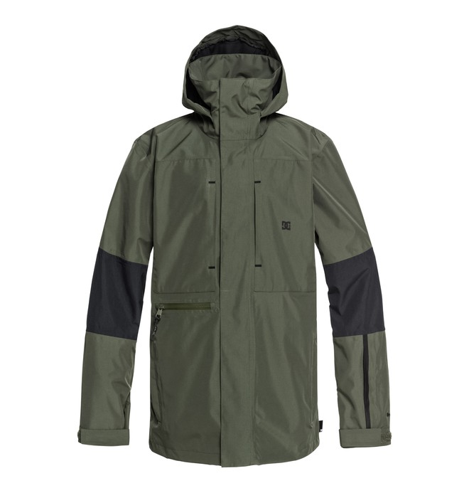 0 Command Snow Jacket Green EDYTJ03077 DC Shoes