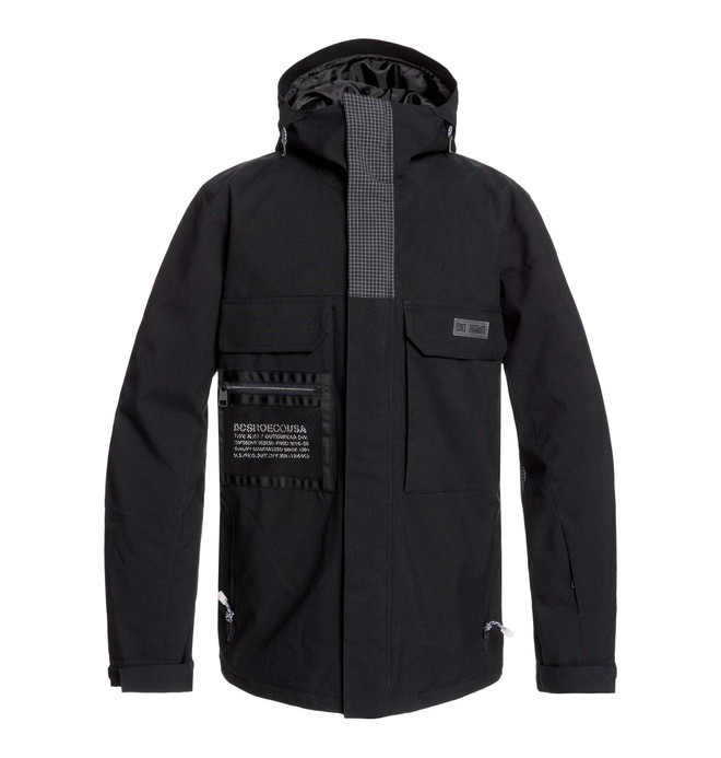 0 Defiant Snow Jacket  EDYTJ03088 DC Shoes