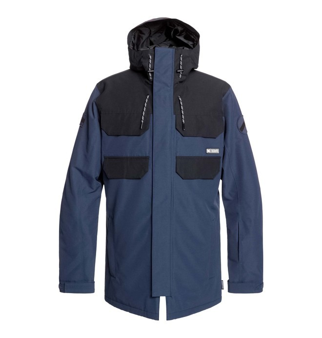 0 Haven Snow Jacket Blue EDYTJ03096 DC Shoes