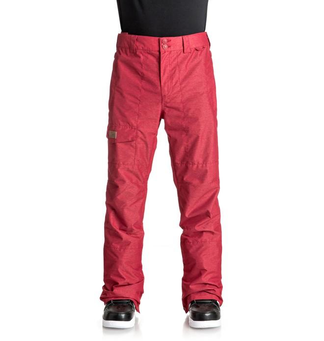 0 Сноубордические штаны Dealer Красный EDYTP03027 DC Shoes