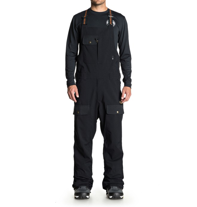 0 Platoon Snow Bib Pants Black EDYTP03031 DC Shoes