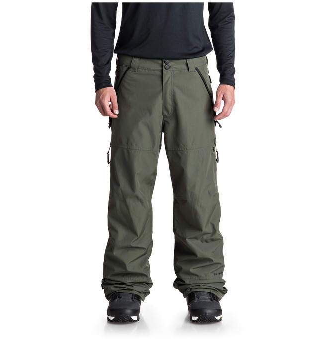 0 Shell Snow Pants Green EDYTP03032 DC Shoes