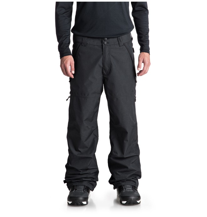 0 Shell Snow Pants Black EDYTP03032 DC Shoes