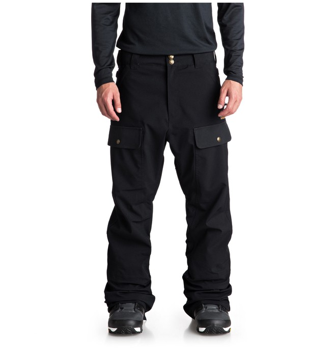 0 Asylum Snow Pants Black EDYTP03033 DC Shoes