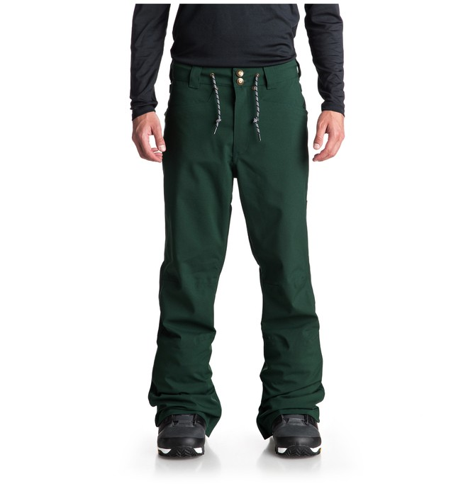 0 Relay Snow Pants Green EDYTP03034 DC Shoes