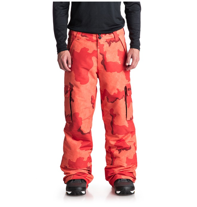 0 Banshee Snow Pants Orange EDYTP03036 DC Shoes